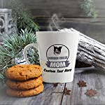 Ceramic Custom Latte Coffee Mug Cup Mom Border Collie Dog Tea Cup 12 Oz Personalized Text Here 10