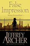Front cover for the book False Impression by Jeffrey Archer