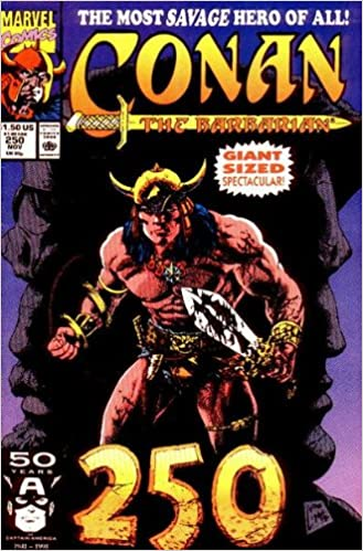 Book Conan The Barbarian - # 250 November 1991