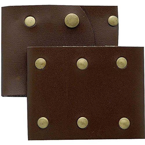 Roman Leather Wristbands -