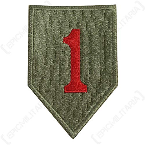 ca US 1st Infantry Division Patch (Type 1) ()
