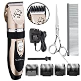 Best Cordless Dog Clippers - Maxshop Low Noise Rechargeable Cordless Pet Dogs Review