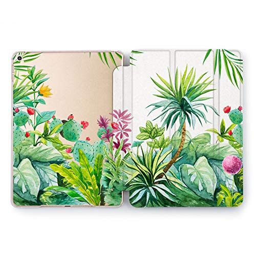 Wonder Wild Tropical View Apple iPad Pro Case 9.7 11 inch Mini 1 2 3 4 Air 2 10.5 12.9 2018 2017 Design 5th 6th Gen Clear Smart Hard Cover Pattern Nature Floral Green Protective Summer Birds Plants