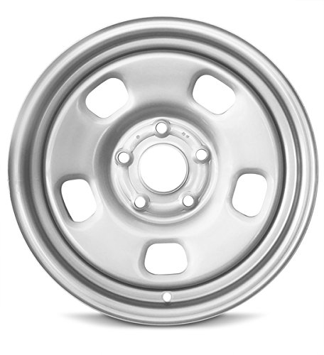 Road Ready Car Wheel For 2013-2019 Dodge Ram 1500 17 Inch 5 Lug Silver Steel Rim Fits R17 Tire - Exact OEM Replacement - Full-Size Spare (Dodge Rims 17 Truck)