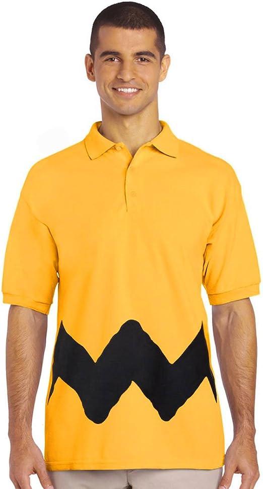 Peanuts Charlie Brown - Polo para Disfraz - Dorado - Large: Amazon ...