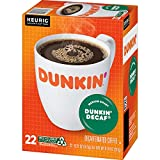 Dunkin' Decaf Medium Roast Coffee, 88 K Cups for