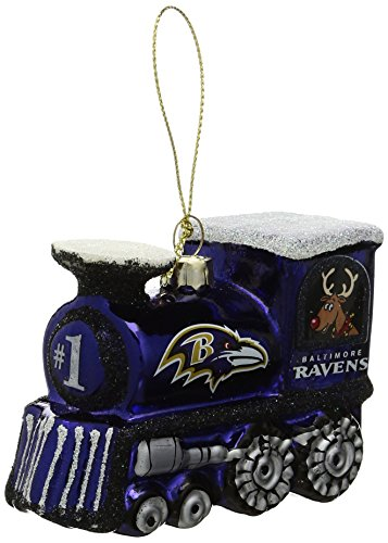 NFL Baltimore Ravens Train Ornament