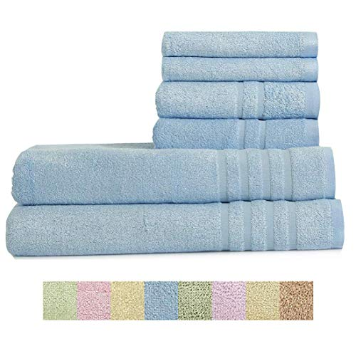 Home Bath Towel 100% Bamboo Fiber Fade-Resistant Super Soft and High...