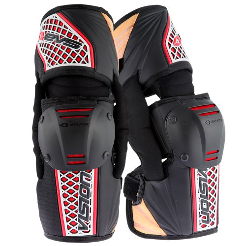 EVS Sports Vision Knee Brace (Black, X-Large) - Pair