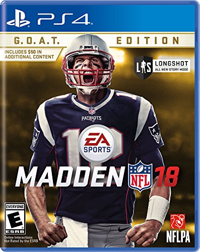 Madden NFL 18 G.O.A.T. Edition - PlayStation 4 by Electronic Arts