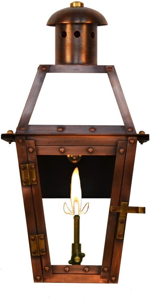 "The CopperSmith Georgetown 15.5"" Gas Lantern"