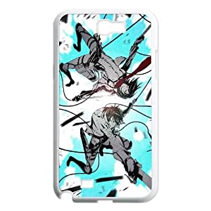 Mikasa Ackerman And Eren Yeager Attack On Titan Anime1 5 Samsung Galaxy N2 7100 Cell Phone Case White Customized Toy pxf005_9735098
