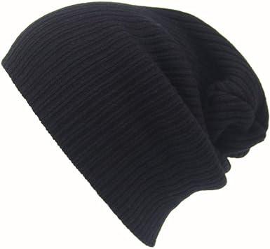 Dark Blue Men/'s Women Beanie Knit Ski Cap Hip-Hop Winter Warm Unisex Wool Hat