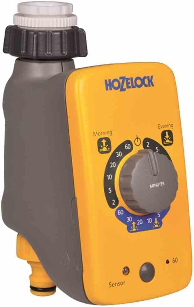 Hozelock 2212 Sensor Controller Water Timer Electronic Auto Watering Garden