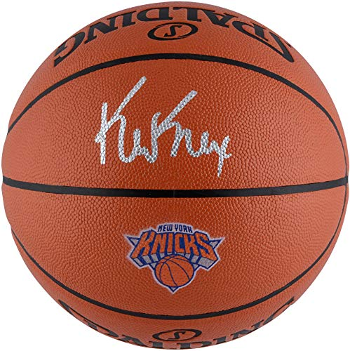 Kevin Knox New York Knicks Autographed Spalding Logo Basketball - Fanatics Authentic Certified - Autographed Basketballs - Knicks Autographed Basketball