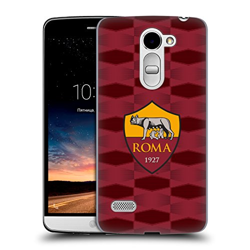 Official As Roma Pre-Match 2017/18 Crest Hard Back Case for LG Ray / - Roma Rays