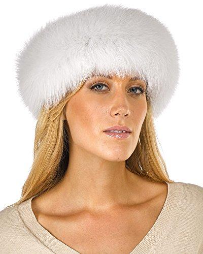 Fur Headband - White Fox Fur by Frr