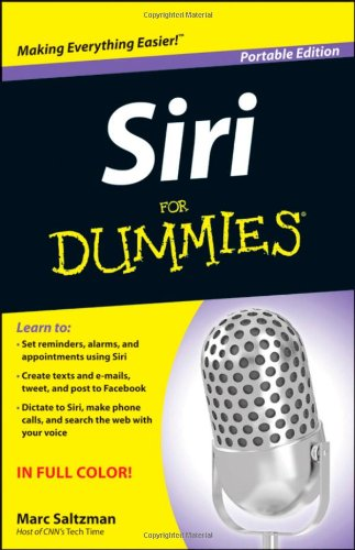 [PDF] Siri For Dummies Free Download | Publisher : For Dummies | Category : Computers & Internet | ISBN 10 : 1118299280 | ISBN 13 : 9781118299289