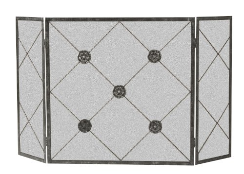 Panacea Products 15931 3-Panel Medallion Fireplace -