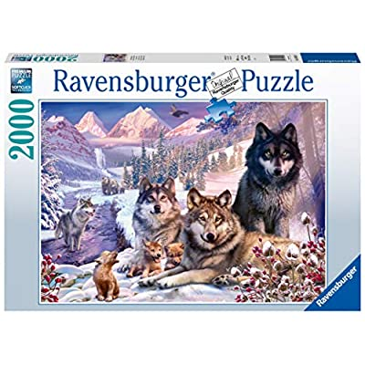 Ravensburger 16012 Wolves 2000 Piece Puzzle for Adults - Every Piece is Unique, Softclick Technology Means Pieces Fit Together Perfectly: Toys & Games