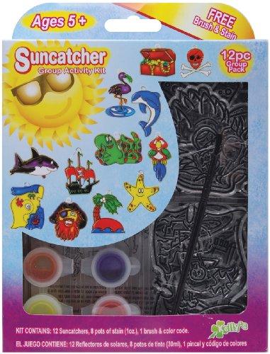 (Suncatcher Group Activity Kit, Pirate 12/Pkg )