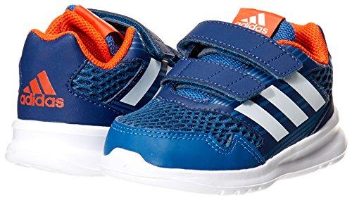 Adidas altarun CF I–Sneaker deportepara Kinder, Blau–(azubas/Ftwbla/azumis),-25