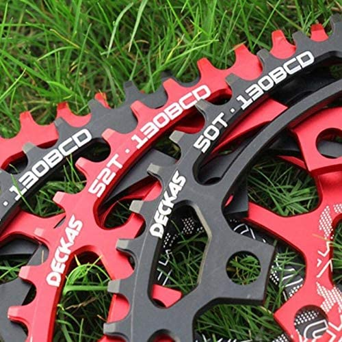 DECKAS Round 130BCD 50T-58T Chainring MTB Mountain Road Bike Bicycle Cycling