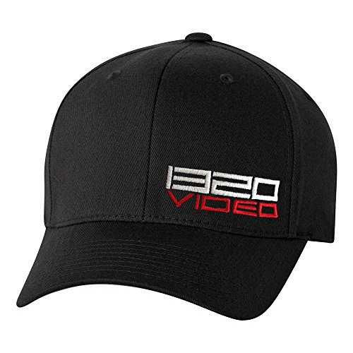 286281c2 1320Video Black Flex-Fit Hat (XL/XXL)