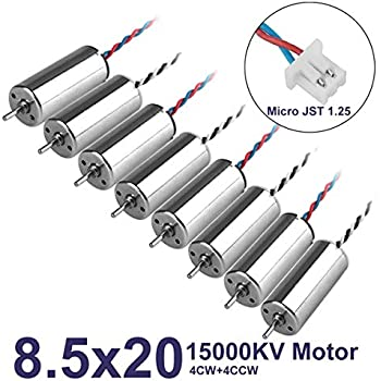 5PCS 4mm*12mm DC 3V 3.7V 53000RPM Ultra High Speed Micro Mini Coreless Motor Toy