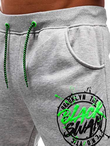 Regular 6f6 Jogger Homme Bolf Sportif Pantalons Gris Denim 55086 Fitness wqI0WvE