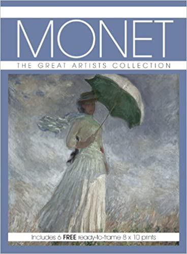 Includes 6 FREE ready-to-frame 8 x10 prints Monet The Great Artists Collection