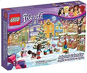 LEGO 41102 Friends Advent Calendar Building Kit, Multi Color