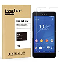 Sony Xperia Z3 Compact Screen Protector- iVoler 0.2mm 2.5D Tempered Glass Screen Protector for Sony Xperia Z3 Compact with Lifetime Replacement Warranty (1-Pack) [in Retail Packaging]
