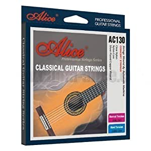 alice classical guitar strings acoustic nylon strings aw130n normal tension. Black Bedroom Furniture Sets. Home Design Ideas