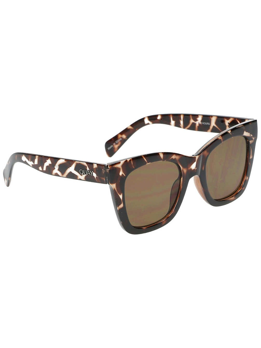 Quay Women's After Hours Sunglasses, Tortoise/Brown, One Size