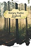 "Notary Public Logbook: 50 Pages, 5.5"" x 8.5"" Mystic Forest"