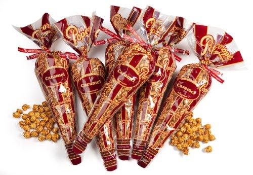 Popcornopolis Gourmet Caramel Corn, 10-Ounce Bags (Pack of 6)