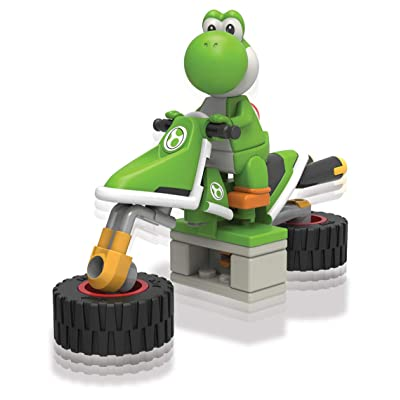 K'NEX Nintendo Mario Kart Yoshi Bike Building Set: Toys & Games
