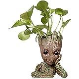 Guardians of The Galaxy Avengers Action Figure Model Toy Flowerpot  Plant Pot Penholder Home Decoration