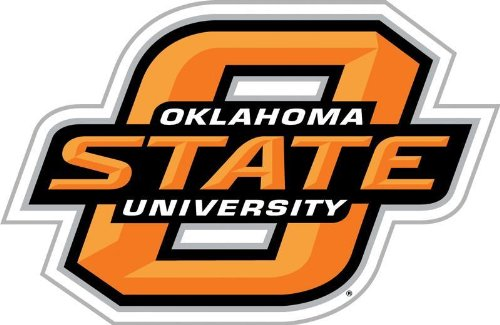 NCAA Oklahoma State Cowboys 12 inch Vinyl Magnet
