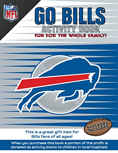 In The Sports Zone NFL Buffalo Bills Activity Book/Blue/White/One Size