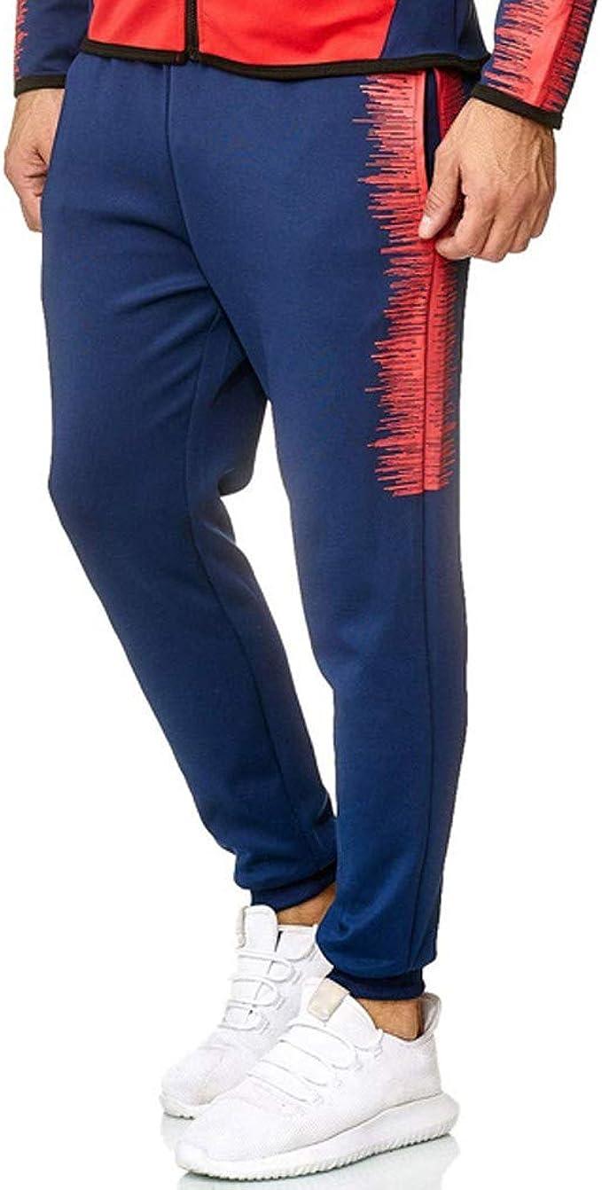 Pantalones de chándal para hombre con estampado deportivo de ...