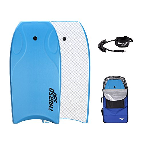 THURSO SURF Lightning 42'' Bodyboard Package PE Core IXPE Deck HDPE Slick Bottom Durable Lightweight...