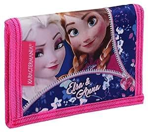 Karactermania Frozen Zipper Monederos, 12 cm, Rosa: Amazon ...