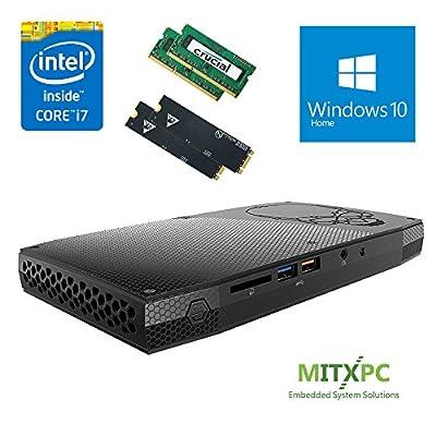 Intel BOXNUC6i7KYK 6th Gen Core i7-6770HQ SkullCanyon NUC w/ 32GB DDR4, Dual 1TB SSD, Windows 10 Home - Configured and Assembled by MITXPC