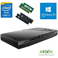 Intel BOXNUC6i7KYK 6th Gen Core i7-6770HQ SkullCanyon NUC w/ 16GB DDR4, 256GB SSD, 1TB SSD, Windows 10 Home - Configured and Assembled by MITXPC