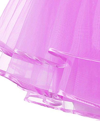 Dguisement Anniversaire Jupe Tulle Mini Courte Rose Facent Jupon Femme Jupe sous Soires Robe Princesse Tutu 7OqWzAxgwn