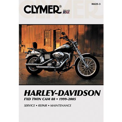 Clymer Repair Manuals for Harley-Davidson Dyna Low Rider FXDL 1999-2005