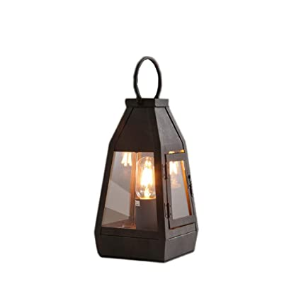 Amazon.com: Wsxxn Loft - Lámpara de mesa retro americana ...