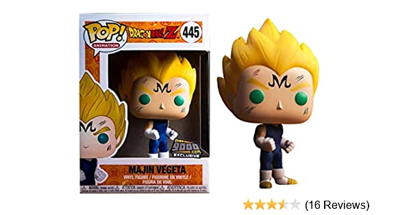 POP Dragon Ball Z  Majin Vegeta Vinyl Figure New in Box #445 WB Funko